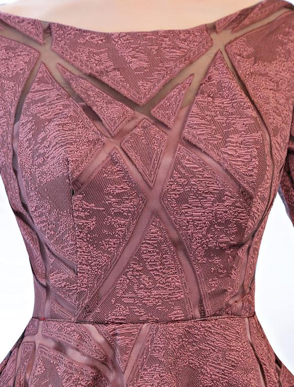 8505316bfdb ... Short Prom Dresses Cameo Pink Half Sleeve Tea Length Cocktail Party  Dresses-No.7 ...