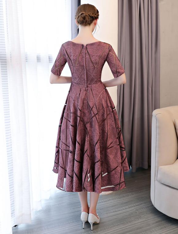 c2449b56c1b ... Short Prom Dresses Cameo Pink Half Sleeve Tea Length Cocktail Party  Dresses-No.5 ...