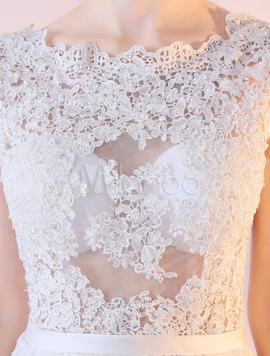 robe de mariée train crochet