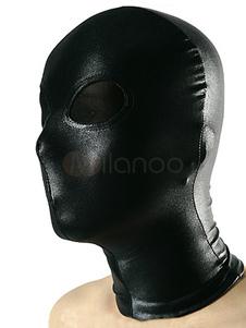 Глаза с капюшоном черный прозрачный Хэллоуин