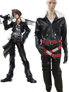 Final Fantasy VIII Squall traje Cosplay Halloween