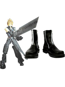 Своеобразный Final Fantasy VII облако беспорядков косплей сапоги Хэллоуин