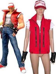 King Of Fighters Терри костюма Cosplay Богард Хэллоуин