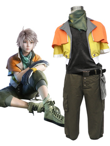 Carnevale Final Fantasy XIII Hope Costume Estheim Cosplay Carnevale