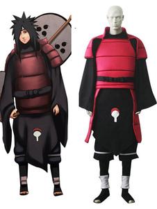 Costume Carnevale Naruto Madara Uchiha cosplay costume con pantaloni e canotta