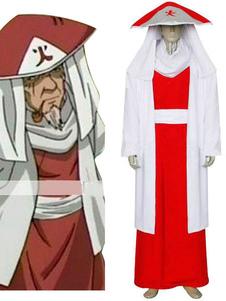 Sarutobi Naruto terzo Hokage Costume Cosplay Carnevale