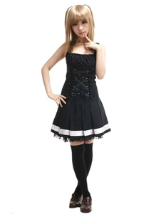 Death Note Amane Миса Cosplay костюмы Хэллоуин