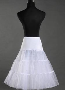 Белый Tiered лайкра кристалл Тюль для новобрачных свадьба Petticoat