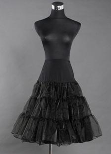 Черный 65 см, многоуровневых лайкра кристалл Тюль для новобрачных свадьба Petticoat