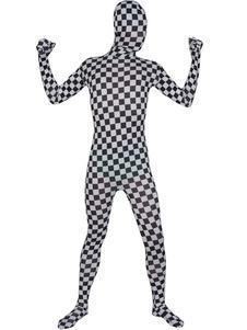فسيفساء منقوشة Zentai البدلة هالوين ليكرا دنة كامل ارتداءها هالوين