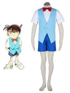 Costume Carnevale Detective Conan-Conan 2 cotone poliestere Costume Cosplay