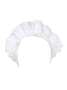 ロリィタヘッドドレス ホワイト コットン
