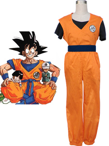 Disfraz Carnaval Dragon Ball Son Goku Cosplay De Halloween Kakarotto Cosplay De Halloween Carnaval