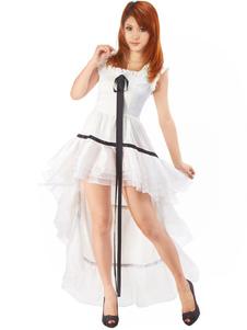 Disfraz Carnaval Traje blanco de Chii para cosplay de Chobits Carnaval