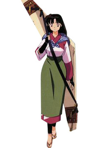 Sango Inuyasha Cosplay Casual Wear Halloween
