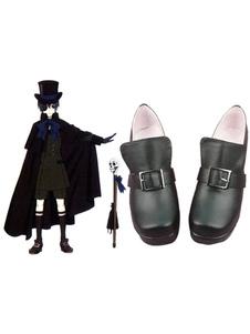 Mordomo Preto Kuroshitsuji Ciel Halloween Cosplay Sapatos 2020 Halloween