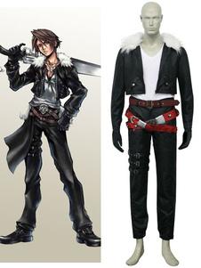 Final Fantasy VIII Шквал Leonhart Cosplay костюмы Хэллоуин