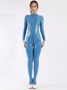 Macacão de Latex azul mulher Classic Halloween