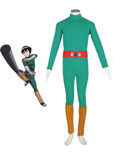 Disfraz Carnaval Traje de Rock Lee para cosplay de Naruto Halloween Carnaval
