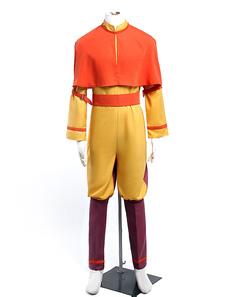 Аватар Аанг косплей костюм Хэллоуин