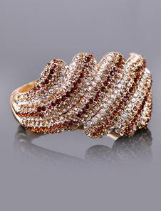 Благородное золото свадебный браслет