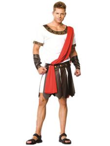 Halloween trajes romano guerreiro do brancos Halloween