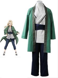 Naruto Tsunate 1th algodão poliéster Cosplay Fantasia Halloween