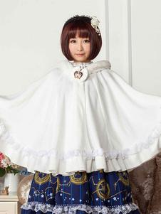 Dulce con capucha capa de Lolita