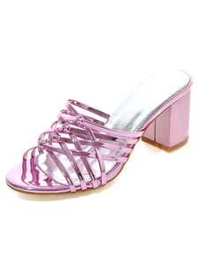 Sandália chique chinelos feminino
