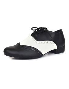 Мужчины цвет блока кружева танцевальная обувь