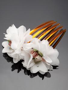 Noivas cabelo Pin pente casamento Tiara flor Headpieces (12 X 6 Cm X 2 Cm)