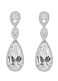 Nozze d'argento orecchini orecchini da sposa