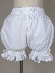 Dolce Lolita Bloomers Lace Trim archi Plus Size cotone zucca Bloomers