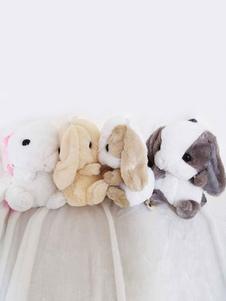 الحلو لوليتا حقيبة جميلة أفخم الأرنب لوليتا على ظهره