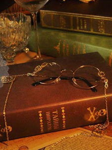 Steampunk من لوليتا نظارات خمر طويلة سلاسل والعتاد ديكو ريترو لوليتا زي الملحقات