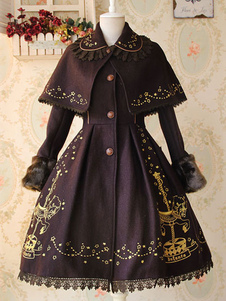 Chaqueta de lolita con bordado