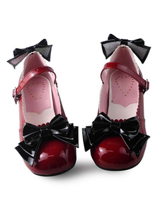 17e918529f2 Sweet Lolita Shoes Light Blue Cross Bow Cute Lolita Shoes Ankle