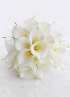 الزفاف باقة الزهور الراين اللؤلؤ مطرز أشرطة القوس اليد تعادل الحرير الزهور باقة الزفاف في الأبيض