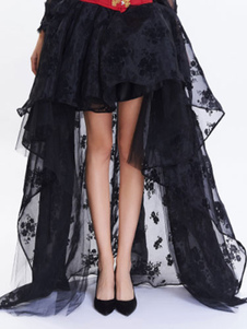 1950-е годы Vintage Petticoat Black High Low Tutu Crinoline Underskirt