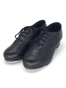 Женская танцевальная обувь из белого алюминия с низким каблуком