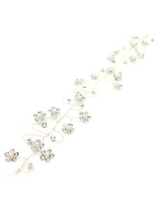 Copricapo argento donna il giorno del fidanzamento accessori