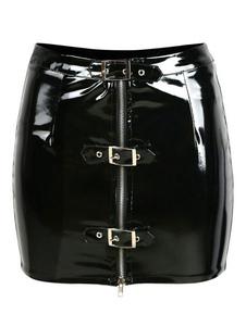 Particolare del pannello esterno del gambale del nero Particolari PVC del pannello esterno di shaping delle donne