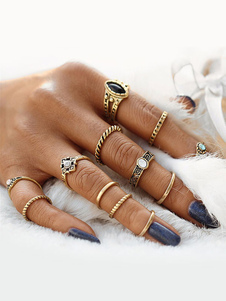 ファッション指輪 巡遊 合金 シック&モダン