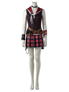 Final Fantasy XV Видеоигры Iris Amicitia PU Patch Cotton 9 Pieces Cosplya Costume Хэллоуин