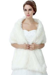 فو الفراء شال الوردي نصف كم المرأة الشتاء المعطف