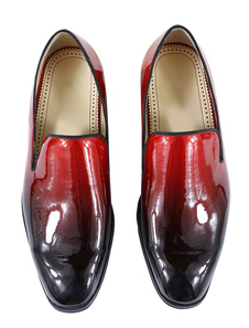 Sapatos lofer para homem para saída à Noite mocassim Salto Resina