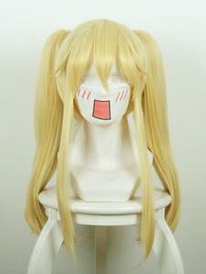 Kakegurui Compulsive Gambler Meari Saotome Blonde Cosplay Pelucas Halloween