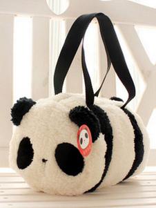 الحلو لوليتا حقيبة يد أبيض الباندا الفانيلا اثنين من لهجة لوليتا حقائب