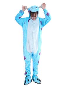 Disfraz Carnaval Disfraz de Kigurumi Adulto de celeste claro tema de animal para Halloween para adultos Carnaval