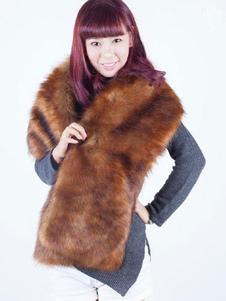 Abrigo de piel sintética estilo moderno de piel sintética con manga corta Color liso para uso al aire libre